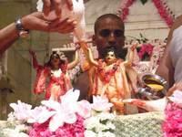 Gaura-Nitai's juice bath