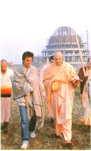 George Harrison in Mayapur: