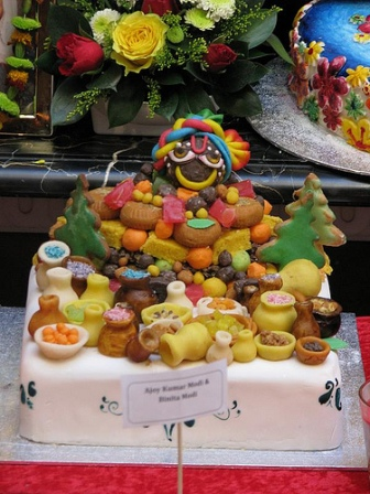 Govardhana Hill of Sweets: