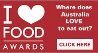 I love food awards: