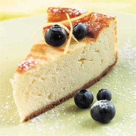 Kurma's baked cheesecake: