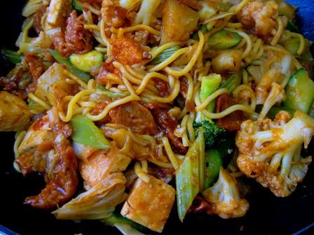 Singapore Noodles: