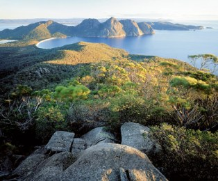 The Freycinet Peninsula: