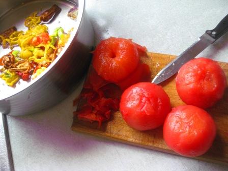 add ripe tommies: