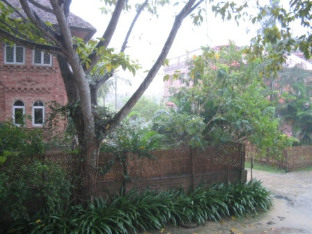 a rainy day in West Bengal: