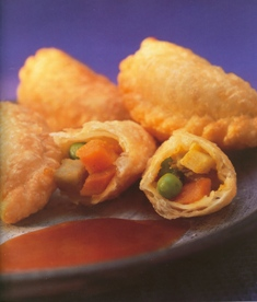 dainty curry puffs: