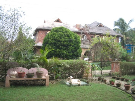 home in Mayapur:
