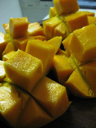 mangoes for breakfast:
