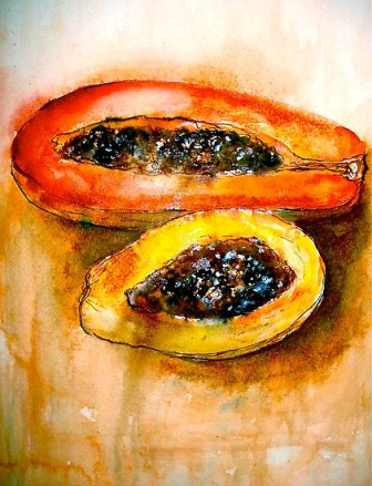 papaya still-life.jpg: