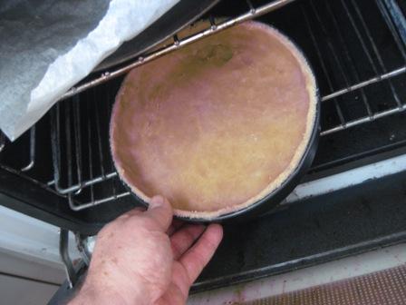 prebake the pastry: