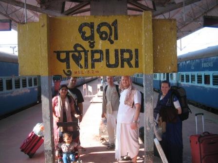 puri station: