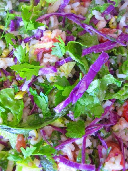 rice salad: