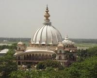 samadhi aerial view: