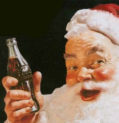 santa coke: