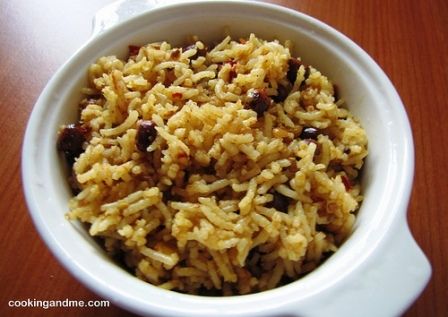 tamarind rice: 