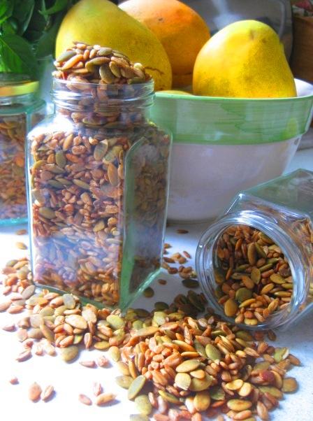those crunchy seeds: