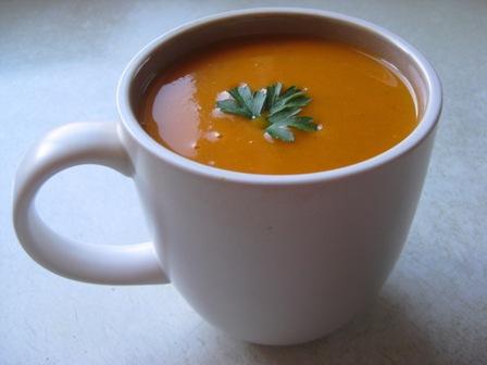 tomato soup: