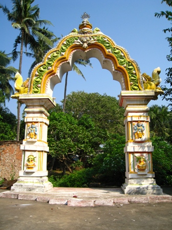 traditional arch: